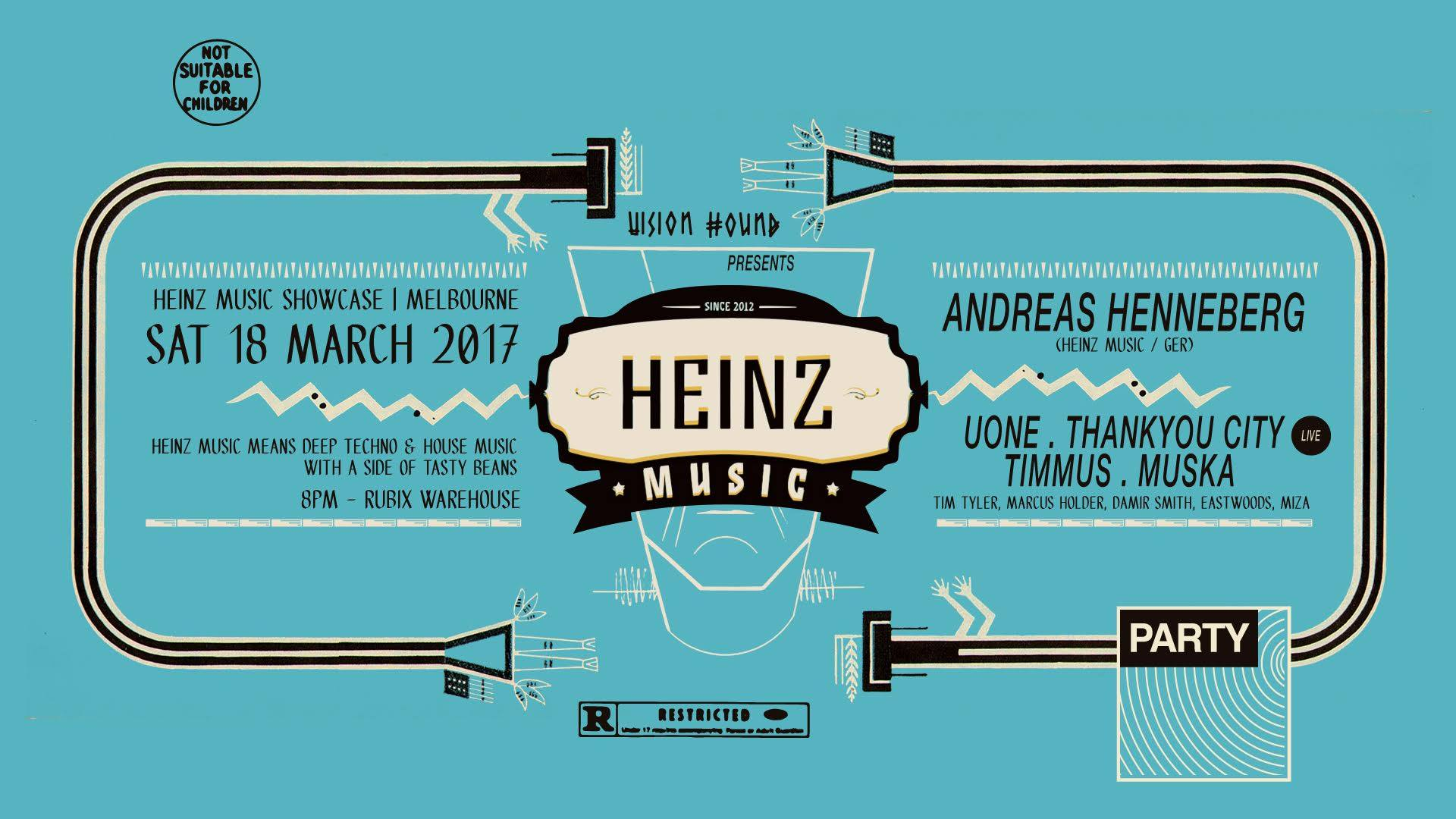HEINZ MUSIC SHOWCASE MELBOURNE: 18th March