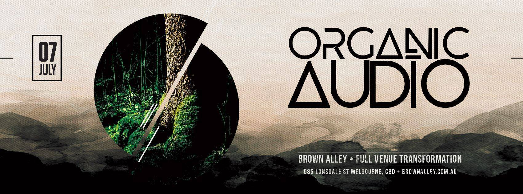 Organic Audio Annual Club Show : 7th July