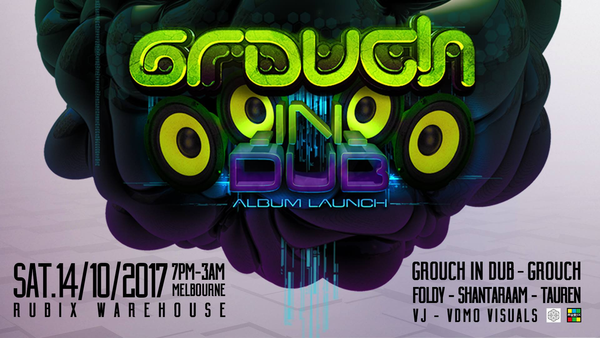 Grouch in Dub - Album Launch : 14th October 2017