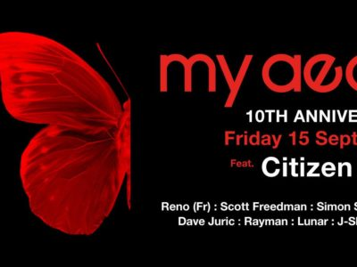 My Aeon 10th Anniversary feat Citizen Kain (France):  15th September 2017
