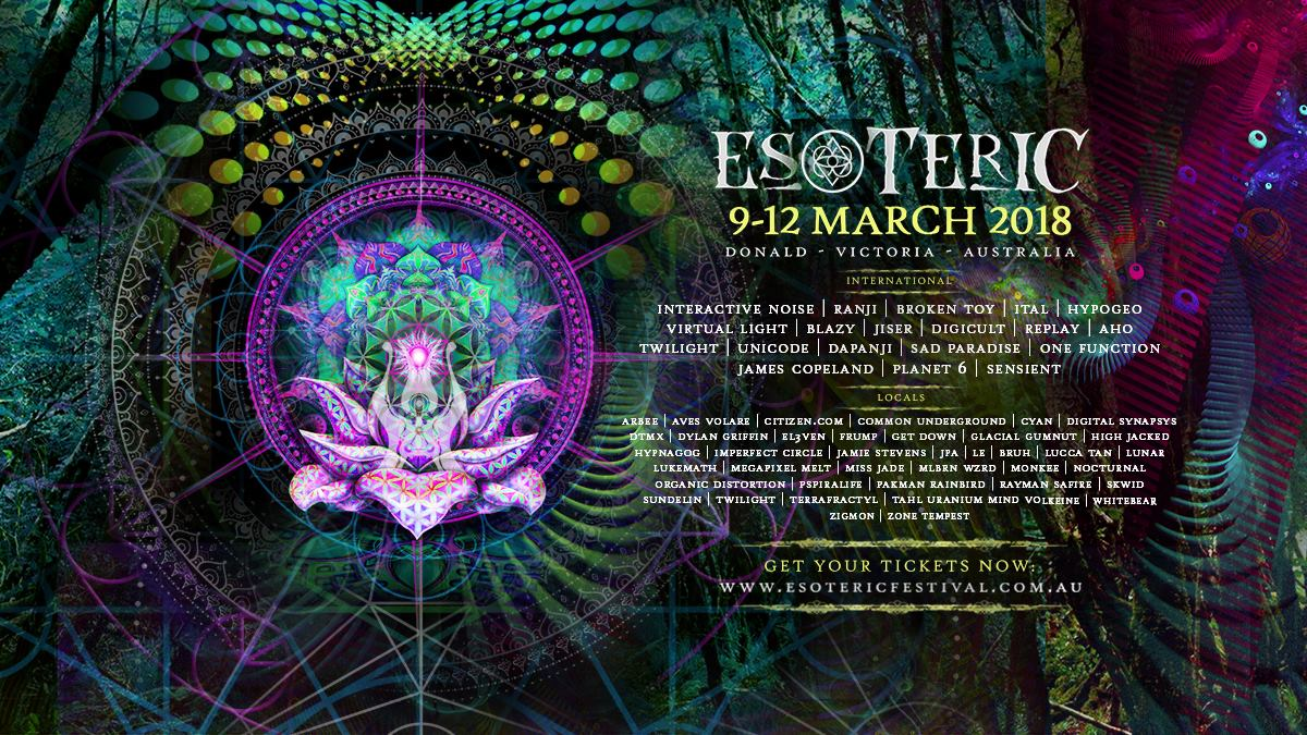 Esoteric 2018